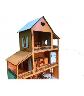 Wooden Lol Baby Playhouse