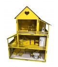 31/5000 Wooden Yellow Lol Baby Playhouse