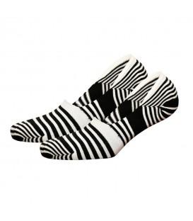 Zebra Desenli Babet Çorap