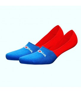 Blue Red Colored Ballet Socks