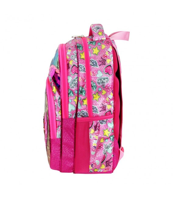 Master Pack Pink With Laptop Compartment 728 Backpack