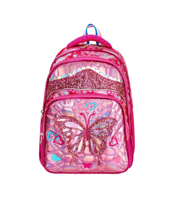 Rain Bow Orthopedic Horse Patterned Primary School Bag + Lunch Bag 562