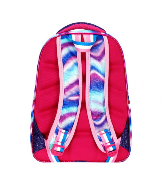 Rain Bow Orthopedic Pink Butterfly Primary School Bag + Lunch Bag 561