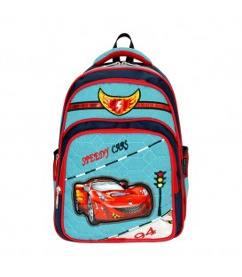 Trafik İşaretli Ortopedik İlkokul Çantası+Beslenme Çantası Master Pack 550