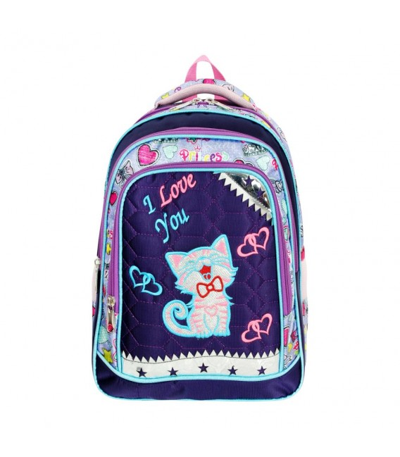 Butterfly Orthopedic Primary School Bag + Lunch Box Master Pack 549
