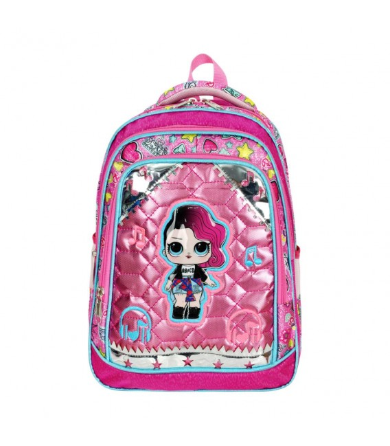 Illustrated Orthopedic Primary School Bag + Lunch Box Master Pack 546