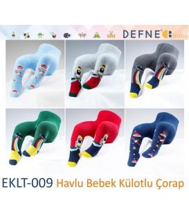 Havlu Bebek Külotlu Çorap